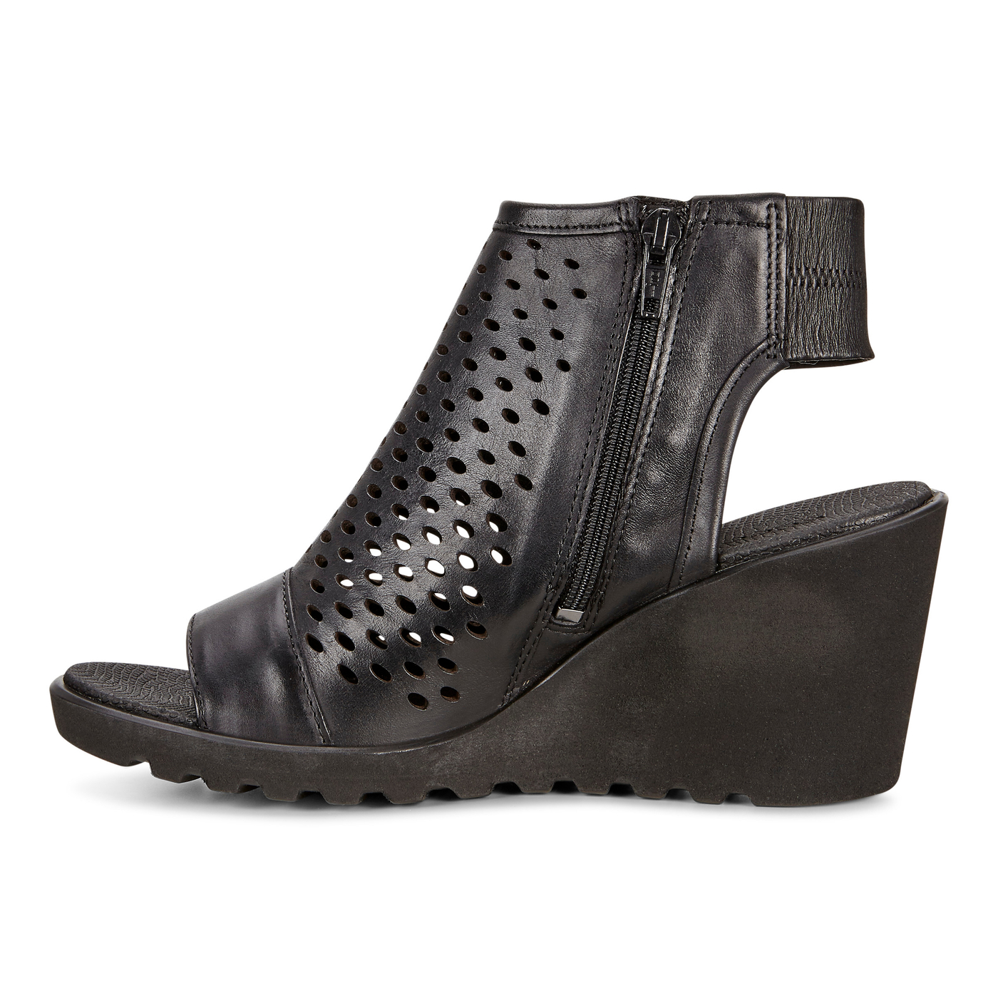 ECCO Freja Wedge Hooded Sandal