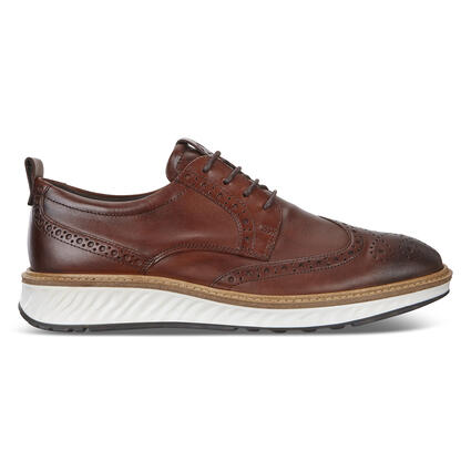 ECCO ST.1 Hybrid Wingtip Derby Shoes