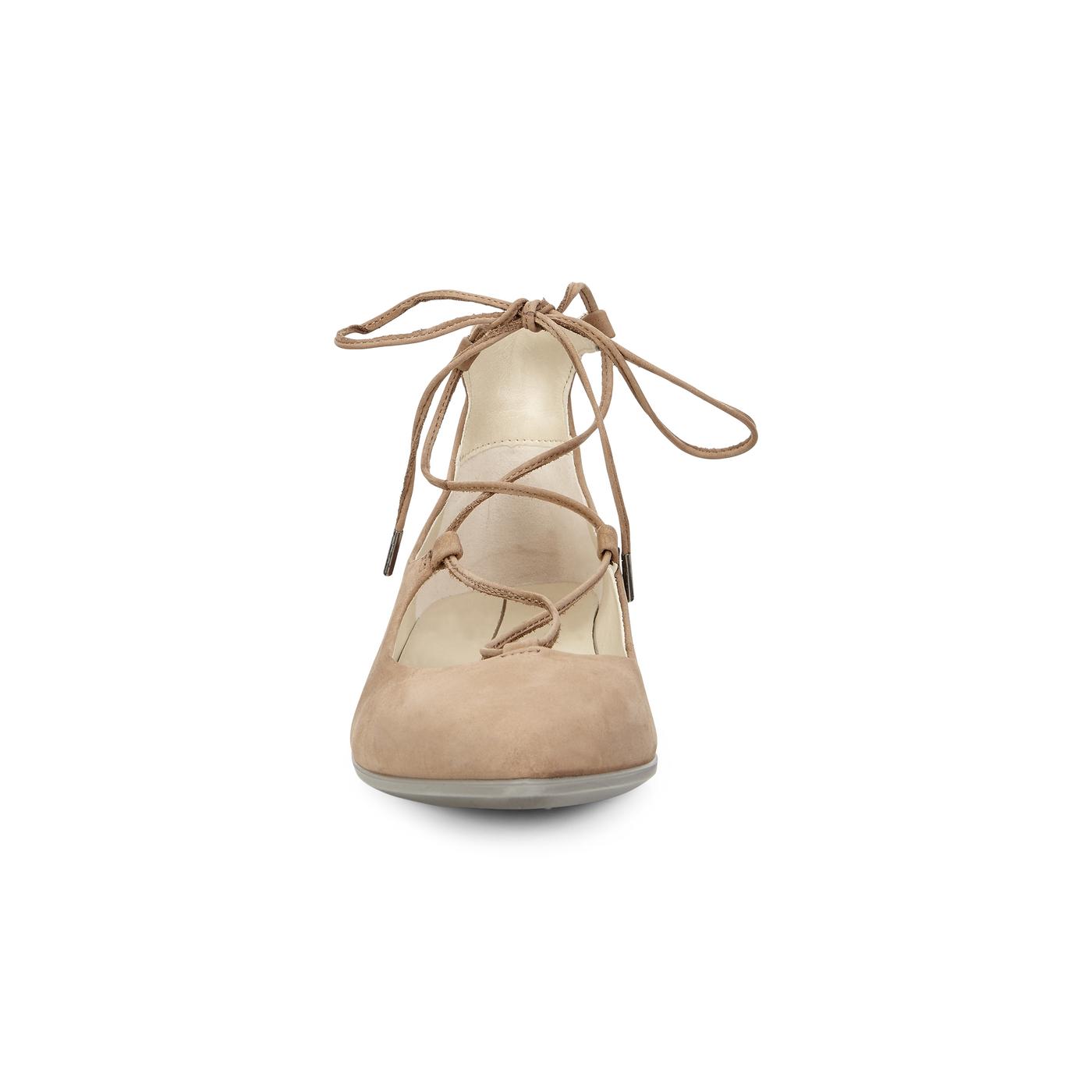 ECCO Shape Tie Up Ballerina