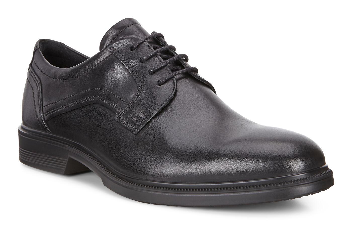 ECCO Lisbon Plain Toe Derby Shoes