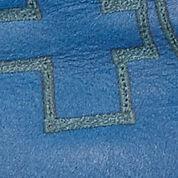 black/bermuda blue