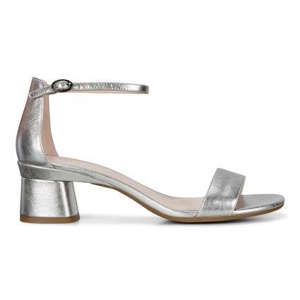 ECCO Elevate 45 Block Heel Strappy Sandals