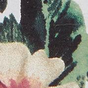 white/flower print