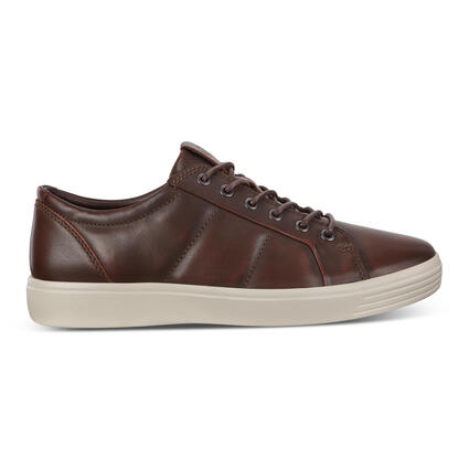 ECCO Soft 7 Men's Padded Leather Sneakers